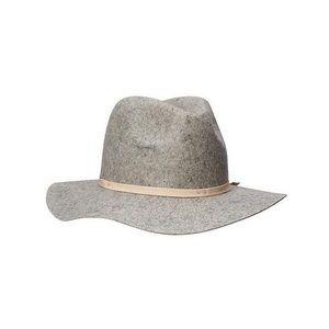 Grey Felt Panama Hat